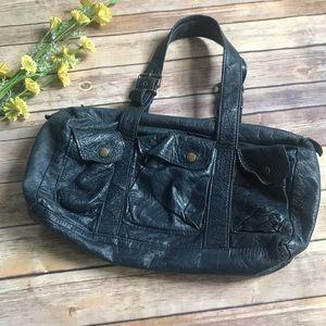 Not Rational Navy Blue Shoulder Bag, used for sale